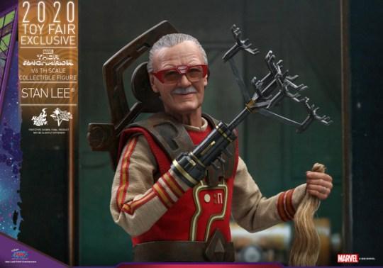 hot toys thor ragnarok stan lee figure - with hair