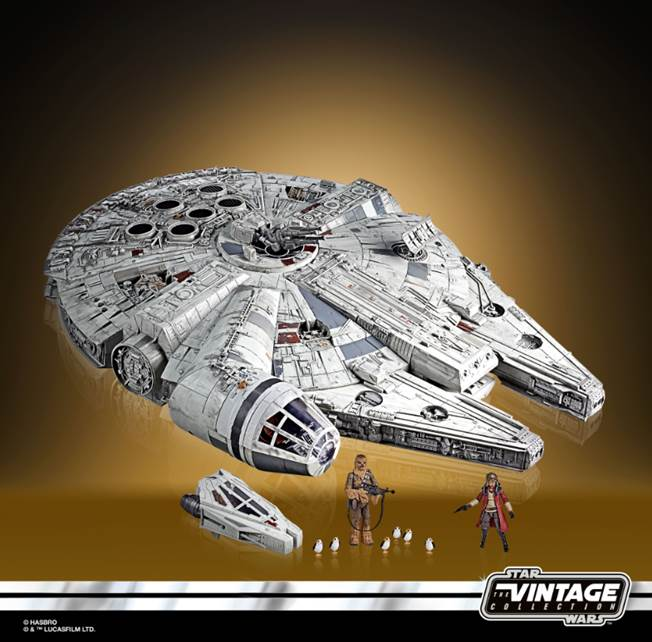 Galaxy's Edge Millennium Falcon Smuggler's Run