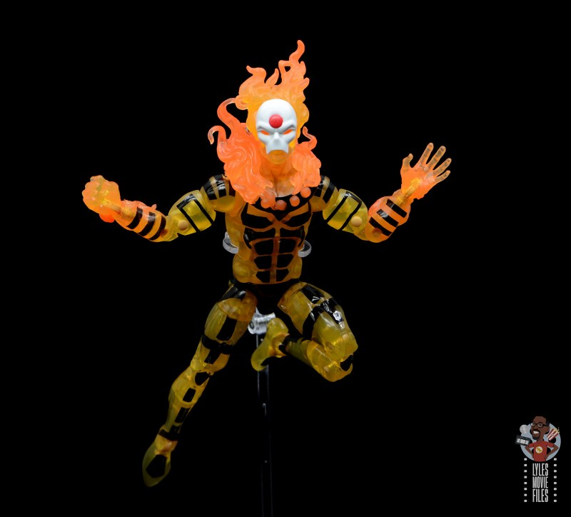 marvel legends age of apocalypse sunfire figure review - flying ahead