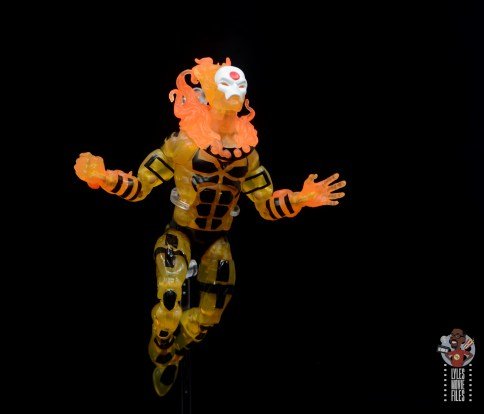 marvel legends age of apocalypse sunfire figure review - flying