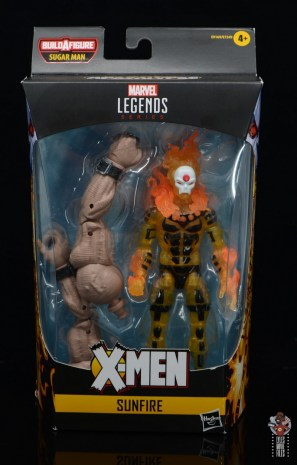 marvel legends age of apocalypse sunfire figure review - package front