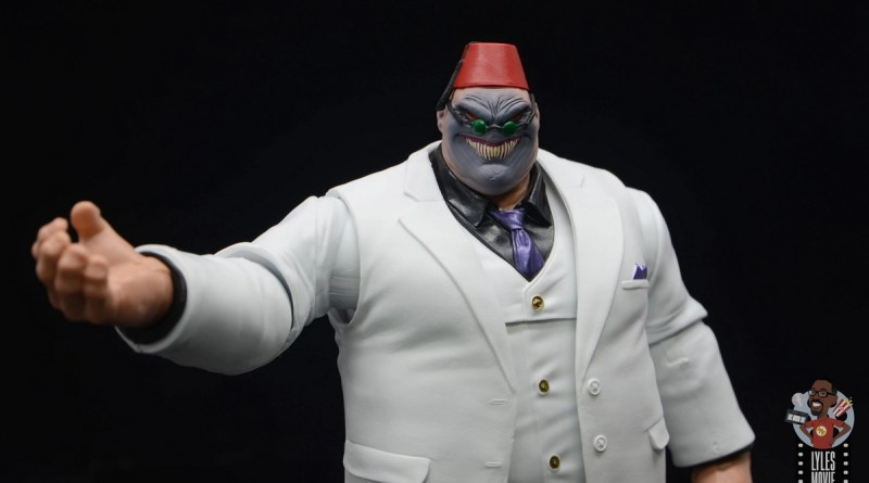 marvel legends build-a-figure shadow king figure review - main pic