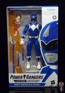 power rangers lightning collection blue ranger figure review - package front