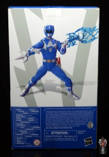 power rangers lightning collection blue ranger figure review - package rear