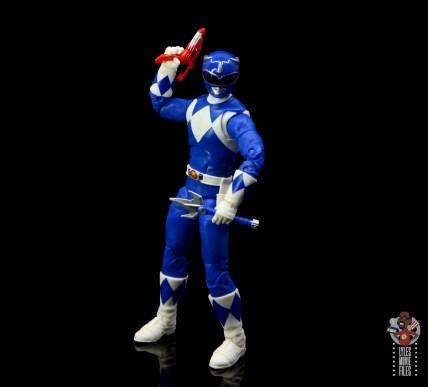 power rangers lightning collection blue ranger figure review - raising blaster