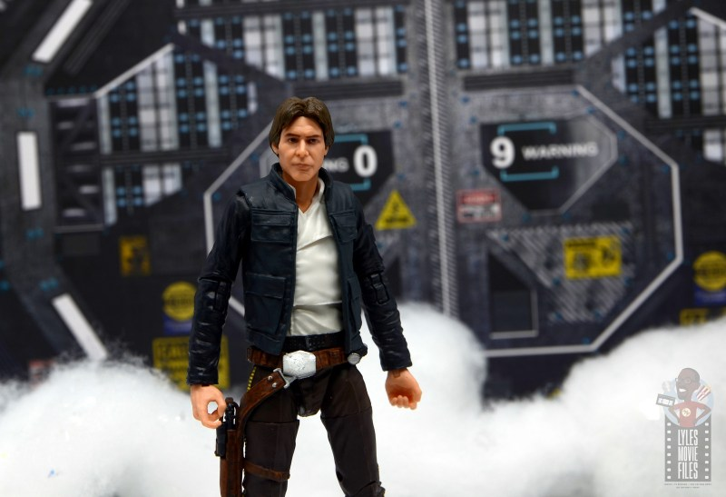 star wars the black series han solo figure review - at hoth base