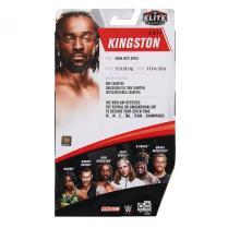 wwe elite 78 - kofi kingston - rear package