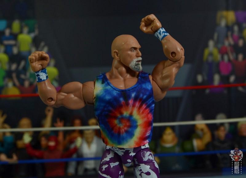 wwe elite 78 superstar billy graham figure review - flexing