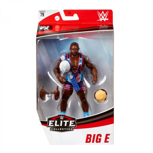 wwe elite 79 big e - front package
