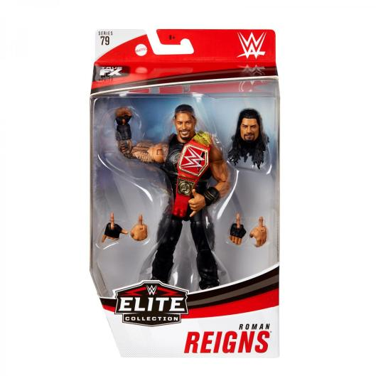 wwe elite 79 roman reigns - front package