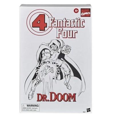 Fantastic Four Marvel Legends Series 6-Inch Doctor Doom figure -outer box