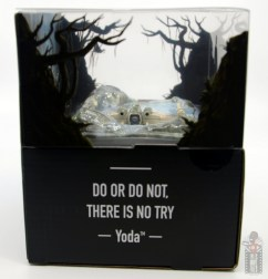 Hot Wheels The Empire Strikes Back X-Wing Dagobah swamp review - package right side