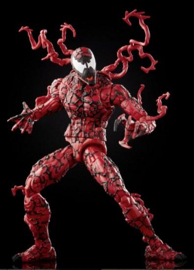 Marvel Legends Series Venom Carnage – crouching