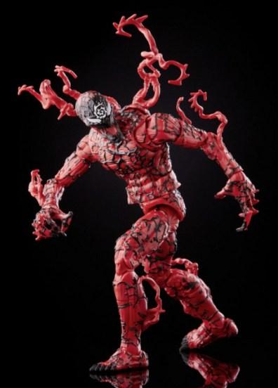 Marvel Legends Series Venom Carnage – twisting
