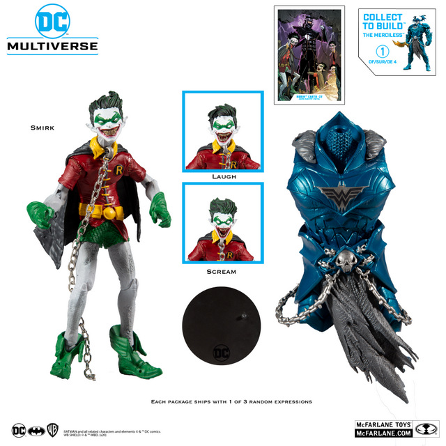 McFarlane Toys DC Multiverse - RobinCrow_All