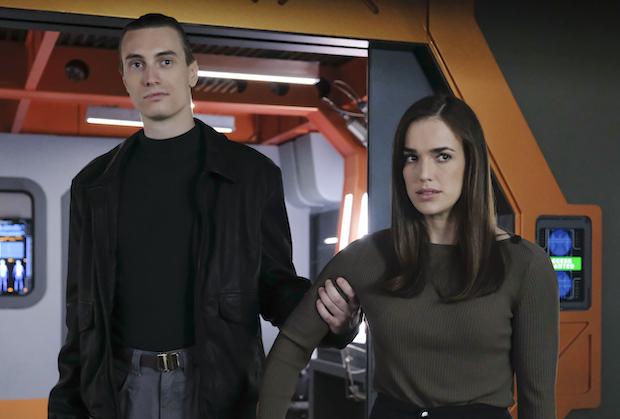 agents of shield stolen review -garrett and jemma