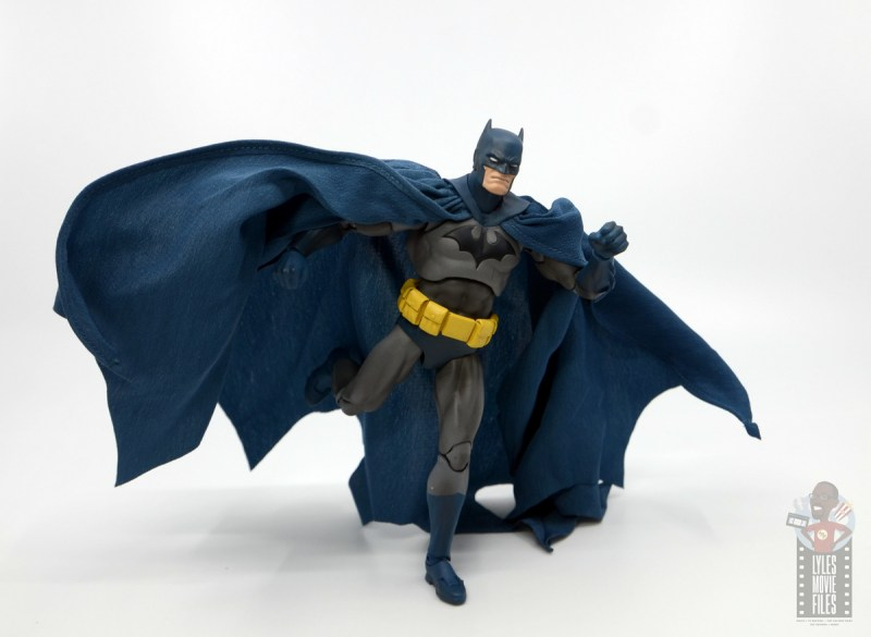mafex hush batman figure review -on the move
