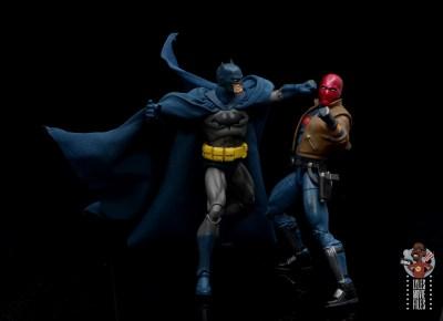 mafex hush batman figure review -punching red hood