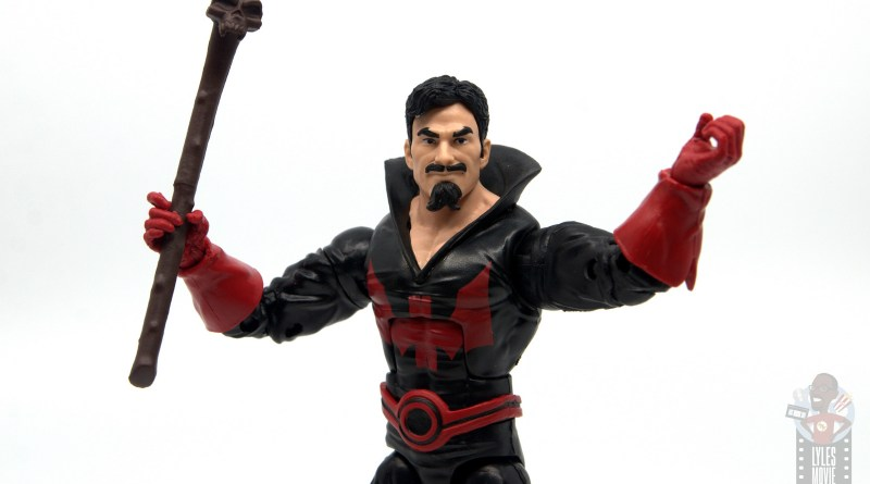 marvel legends black tom cassidy figure review - main pic