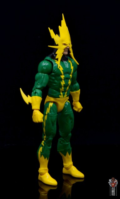 marvel legends electro figure review -right side