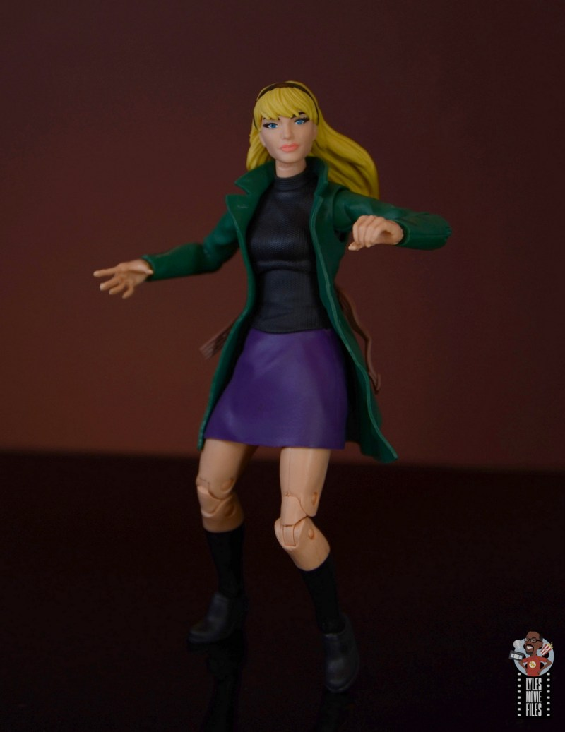 marvel legends retro gwen stacy figure review - twisting