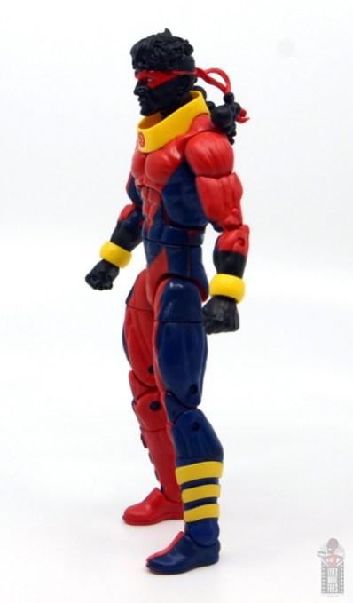 marvel legends sunspot figure review - left side