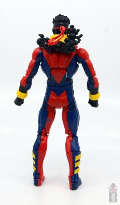 marvel legends sunspot figure review - rear
