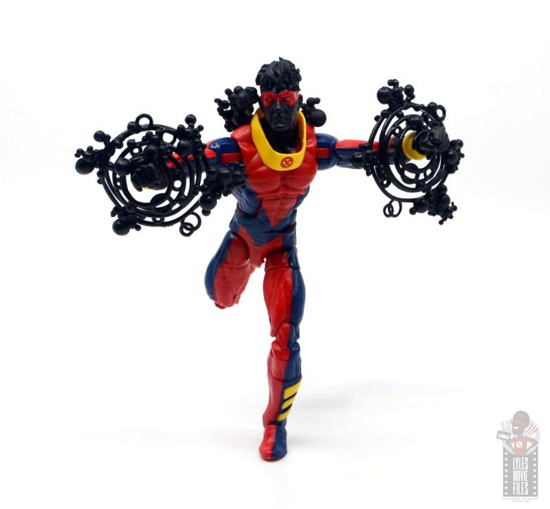 marvel legends sunspot figure review - running