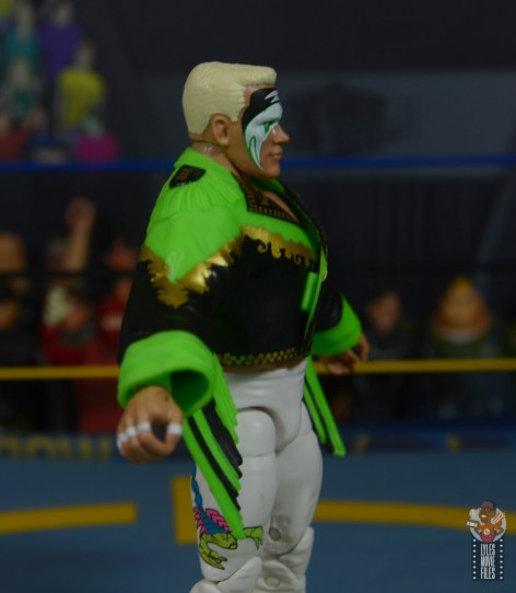 wwe elite 62 sting figure review - jacket right side