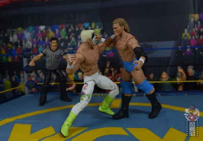 wwe elite 62 sting figure review - punching sid vicious
