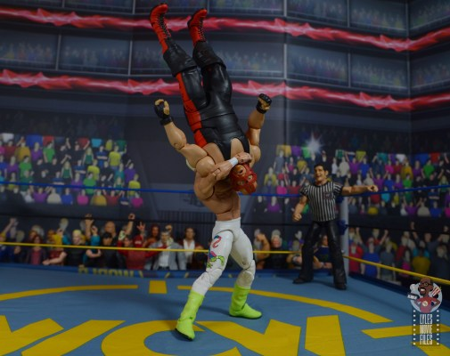 wwe elite 62 sting figure review - suplex to vader