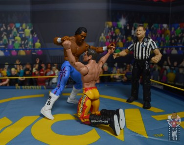 wwe elite hall of champions ron simmons figure review -overpowering rick rude