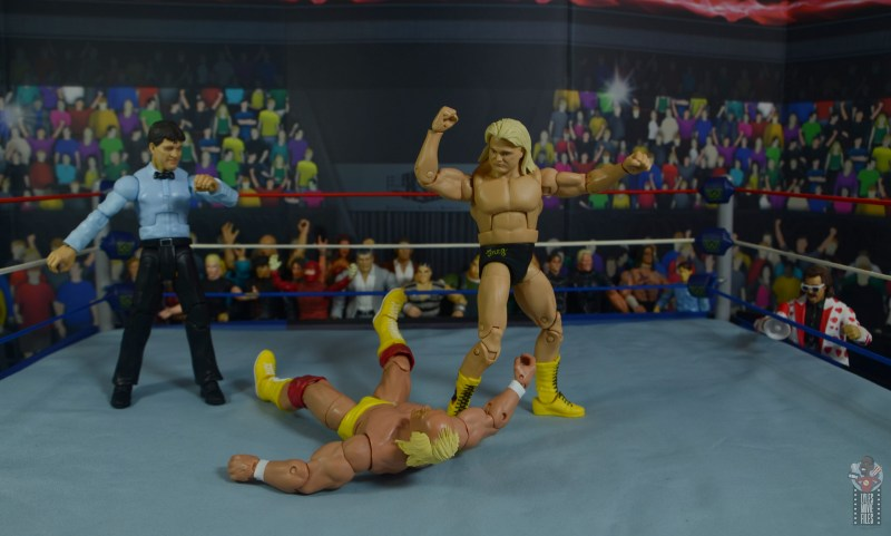 wwe legends 7 greg the hammer valentine figure review - dropping the hammer on hogan