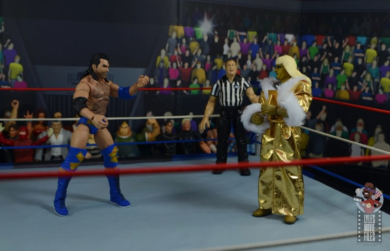 wwe legends 7 razor ramon figure review - face off with goldust