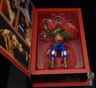 wwe sdcc elite mr. t figure review - inner package tray