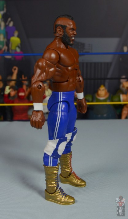 wwe sdcc elite mr. t figure review - right sde