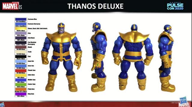 Hasbro PulseCon 2020 – marvel legends thanos