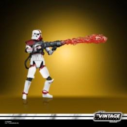 STAR WARS THE VINTAGE COLLECTION 3.75-INCH INCINERATOR TROOPER Figure - oop (3)