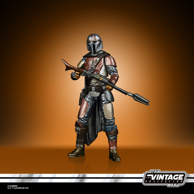 STAR WARS THE VINTAGE COLLECTION CARBONIZED COLLECTION 3.75-INCH THE MANDALORIAN - oop5