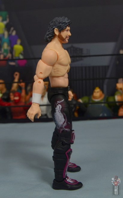 aew unrivaled kenny omega figure review - right side