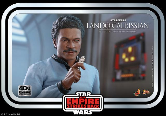 hot toys empire strikes back lando calrissian figure - sounding the evacuation