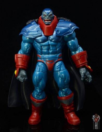 marvel legends apocaylpse - apocalypse figure review -front