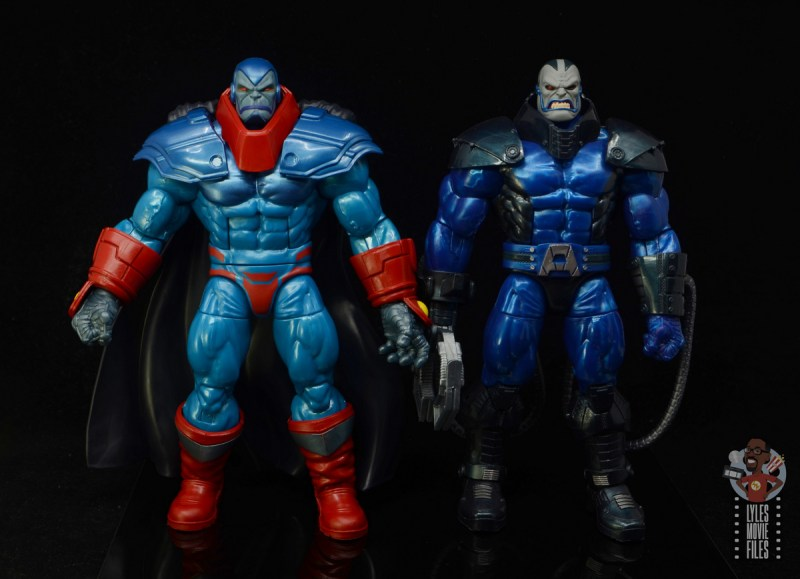 marvel legends apocaylpse - apocalypse figure review - with build a figure apocalypse