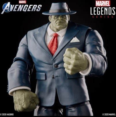 marvel legends marvel's avengers joe fixit close up