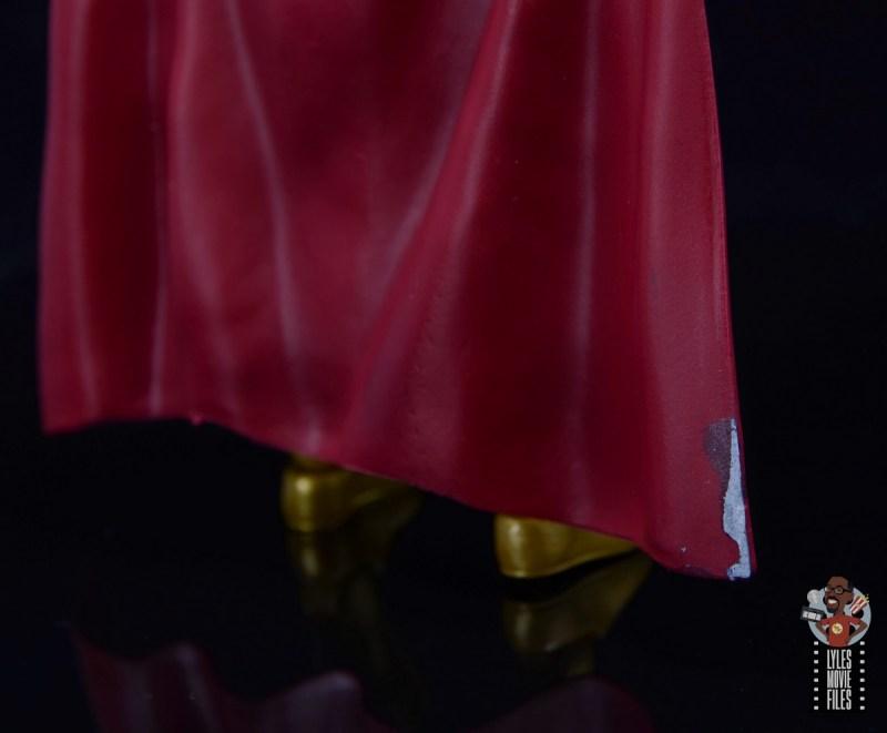 marvel legends retro mysterio figure review - cape damage
