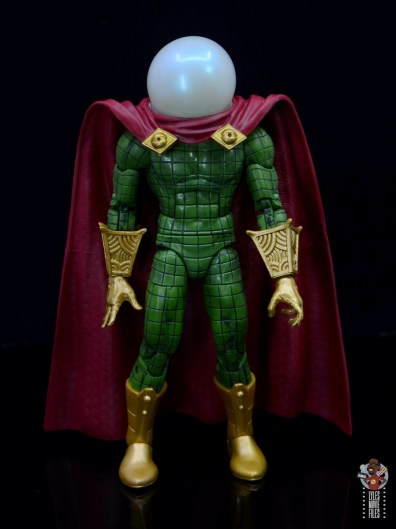 marvel legends retro mysterio figure review - front