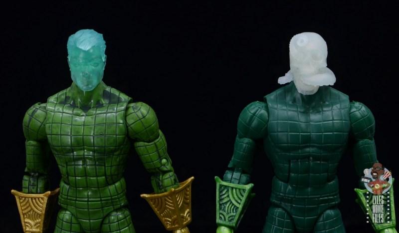 marvel legends retro mysterio figure review -globe-less heads