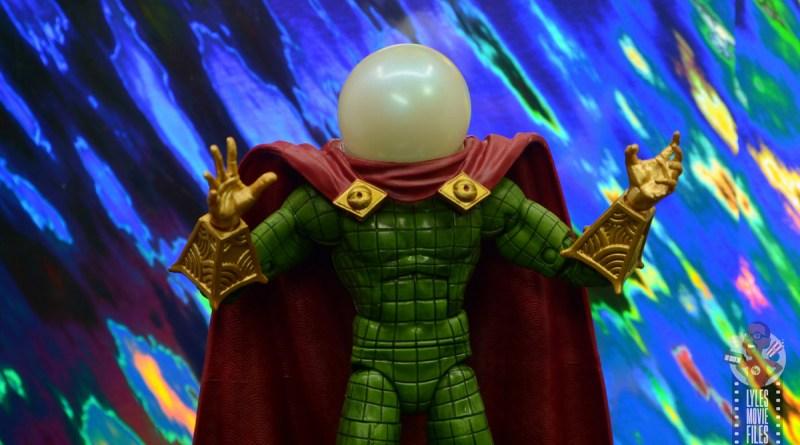 marvel legends retro mysterio figure review - main pic