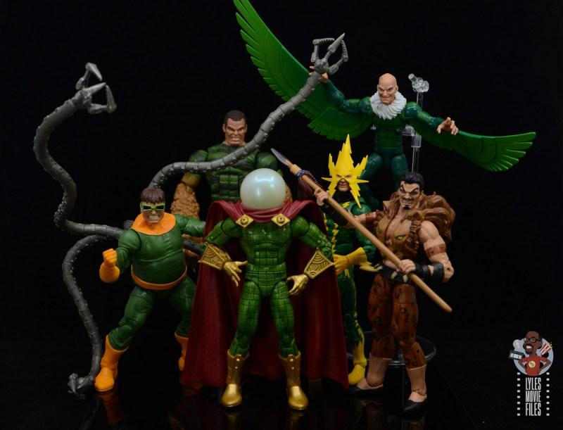 marvel legends retro mysterio figure review - sinister six marvel legends