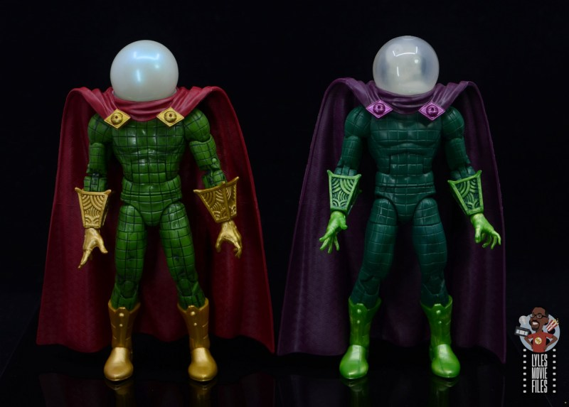 marvel legends retro mysterio figure review - with first mysterio